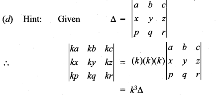 Samacheer Kalvi 11th Maths Solutions Chapter 7 Matrices and Determinants Ex 7.5 24