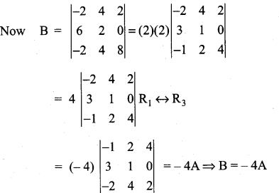 Samacheer Kalvi 11th Maths Solutions Chapter 7 Matrices and Determinants Ex 7.5 34