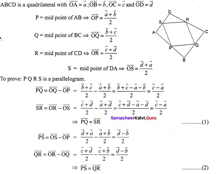 Samacheer Kalvi 11th Maths Solutions Chapter 8 Vector Algebra - I Ex 8.1 10