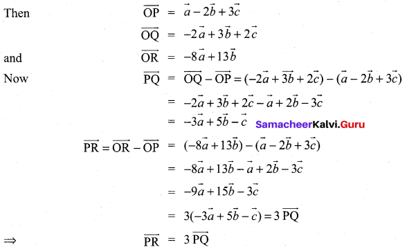 Samacheer Kalvi 11th Maths Solutions Chapter 8 Vector Algebra - I Ex 8.1 19