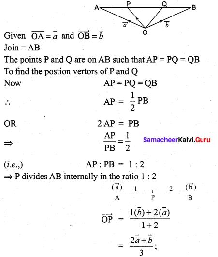 Samacheer Kalvi 11th Maths Solutions Chapter 8 Vector Algebra - I Ex 8.1 4