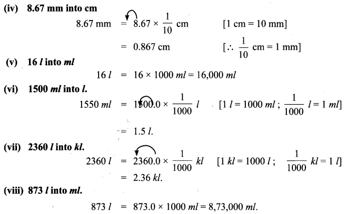 Samacheer Kalvi 6th Maths Solutions Term 2 Chapter 2 Measurements Intext Questions 28 Q1.1