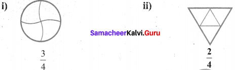 Samacheer Kalvi 6th Maths Solutions Term 3 Chapter 1 Fractions Additional Questions 1