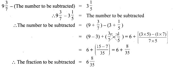 Samacheer Kalvi 6th Maths Solutions Term 3 Chapter 1 Fractions Ex 1.2 7