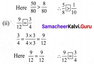 Samacheer Kalvi 6th Maths Term 1 Chapter 3 Ratio and Proportion Intext Questions 55 Q3.1