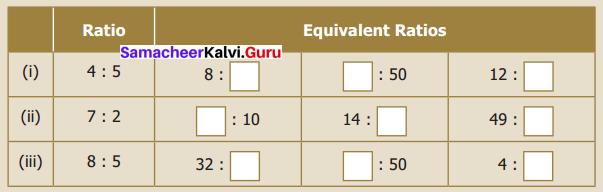 Samacheer Kalvi 6th Maths Term 1 Chapter 3 Ratio and Proportion Intext Questions 64 Q2