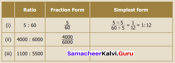 Samacheer Kalvi 6th Maths Term 1 Chapter 3 Ratio and Proportion Intext Questions 64 Q3