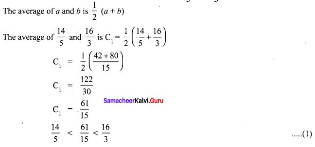Samacheer Kalvi 8th Maths Term 1 Chapter 1 Rational Numbers Ex 1.1 10
