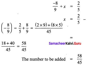 Samacheer Kalvi 8th Maths Term 1 Chapter 1 Rational Numbers Ex 1.1 16