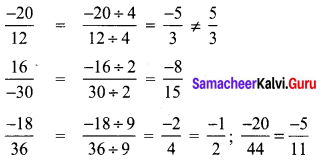 8th Maths Guide Term 1 Chapter 1 Rational Numbers Ex 1.1 38