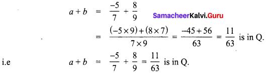 8th Maths Exercise 1.2 Samacheer Kalvi