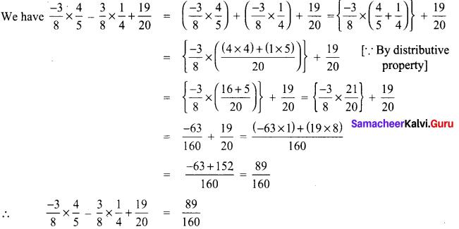 Samacheer Kalvi 8th Maths Term 1 Chapter 1 Rational Numbers Ex 1.2 15