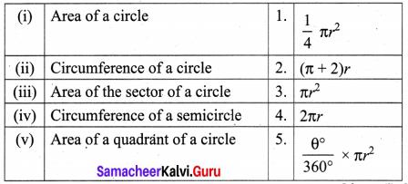Ex 2.1 Class 10 Samacheer Chapter 2 Measurements Ex 2.1