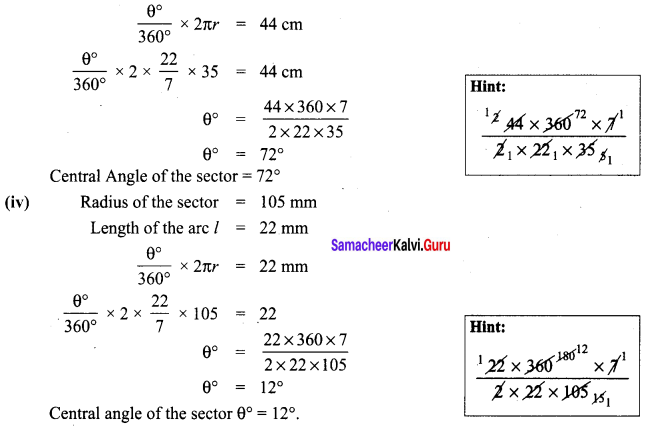 Maths 8th Class Chapter 2 Exercise 2.1 Samacheer