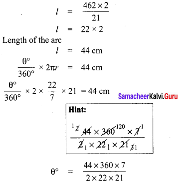 8th Maths Guide Term 1 Chapter 2 Measurements Ex 2.1 Samacheer