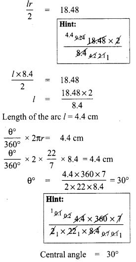 8th Maths Measurement Chapter 2 Measurements Ex 2.1 Samacheer