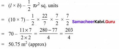 8th Samacheer Maths Exercise 2.2 Samacheer Kalvi Measurements