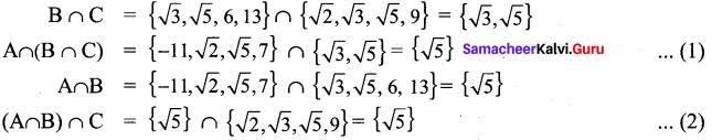 Exercise 1.4 Class 9 Maths Samacheer Chapter 1 Set Language