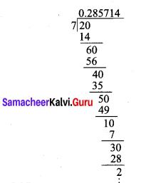 9th Maths Exercise 2.2 Samacheer Kalvi