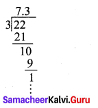 9th Standard Maths Exercise 2.2 Samacheer Kalvi