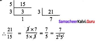 9th Maths Samacheer Kalvi Chapter 2 Real Numbers Ex 2.2