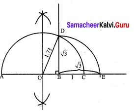 Samacheer Kalvi 9th Maths Chapter 2 Real Numbers Ex 2.3 1