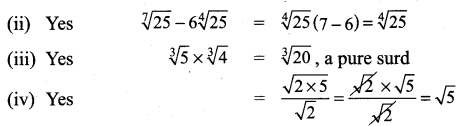 Class 9 Exercise 2.6 Samacheer Kalvi Chapter 2 Real Numbers