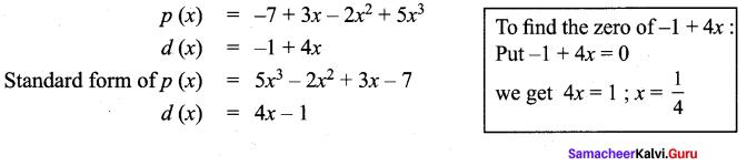 Samacheer Kalvi 9th Maths Chapter 3 Algebra Additional Questions 75