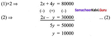 Samacheer Kalvi 9th Maths Chapter 3 Algebra Ex 3.14 4
