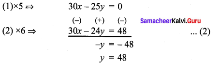 Samacheer Kalvi 9th Maths Chapter 3 Algebra Ex 3.14 5