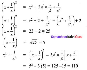 9th Maths Exercise 3.4 Samacheer Kalvi