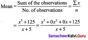 9th Maths Algebra Samacheer Kalvi Chapter 3