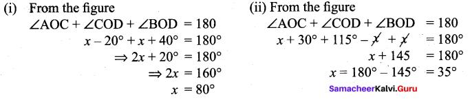 Samacheer Kalvi 9th Maths Chapter 4 Geometry Additional Questions 6