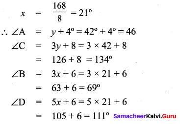 Samacheer Kalvi 9th Maths Chapter 4 Geometry Additional Questions 81
