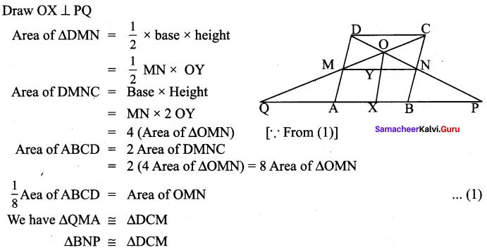 Samacheer Kalvi 9th Maths Chapter 4 Geometry Ex 4.2 54