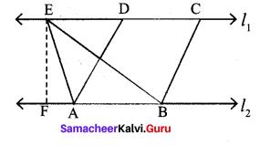 Samacheer Kalvi 9th Maths Chapter 4 Geometry Ex 4.2 8