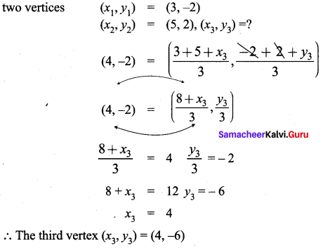 Samacheer Kalvi 9th Maths Chapter 5 Coordinate Geometry Ex 5.5 2