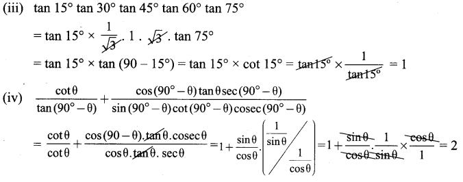 Samacheer Kalvi 9th Maths Chapter 6 Trigonometry Ex 6.3 3