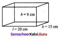 Samacheer Kalvi 9th Maths Chapter 7 Mensuration Ex 7.2 1