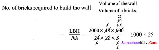 Samacheer Kalvi 9th Maths Chapter 7 Mensuration Ex 7.3 20