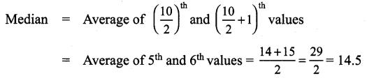 Samacheer Kalvi 9th Maths Chapter 8 Statistics Additional Questions 7