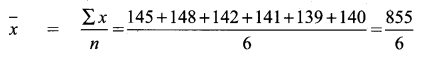 Samacheer Kalvi 9th Maths Chapter 8 Statistics Ex 8.1 6