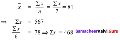 Samacheer Kalvi 9th Maths Chapter 8 Statistics Ex 8.4 1
