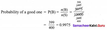 Samacheer Kalvi 9th Maths Chapter 9 Set Language Ex 9.2 2