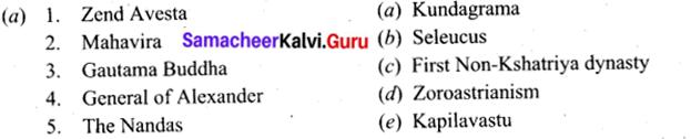 Elaborate The Term Triratnas 9th Standard Samacheer Kalvi