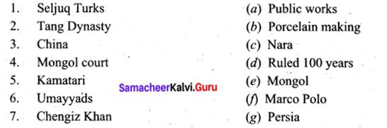 9th Social Science Book Back Answers Samacheer Kalvi