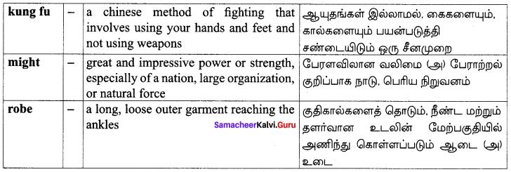 Samacheer Kalvi 10th English Solutions Supplementary Chapter 3 The Story of Mulan 15