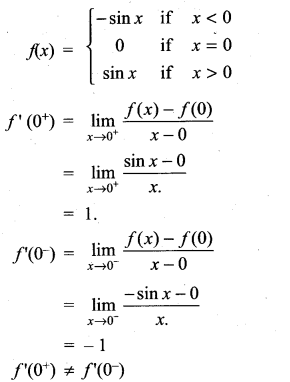 Samacheer Kalvi 11th Maths Solutions Chapter 10 Differentiability and Methods of Differentiation Ex 10.1 15