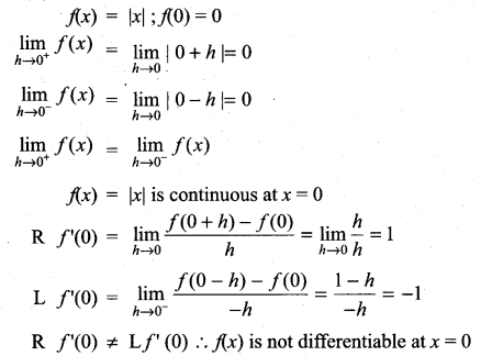 Samacheer Kalvi 11th Maths Solutions Chapter 10 Differentiability and Methods of Differentiation Ex 10.1 25