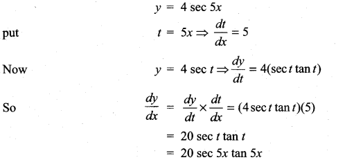 Samacheer Kalvi 11th Maths Solutions Chapter 10 Differentiability and Methods of Differentiation Ex 10.3 10